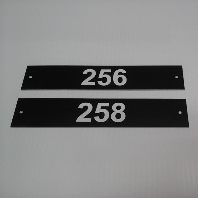 Laser Door Signs