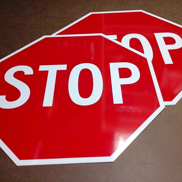 One Way & Stop