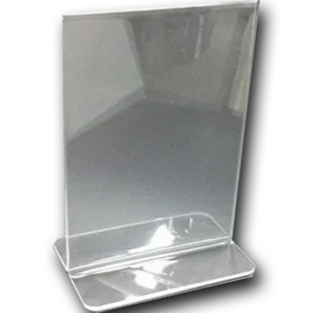 Clear Plastic Stands