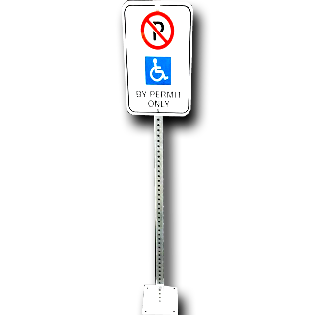 Clearance Post & Sign