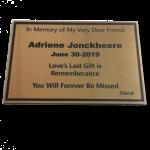 Memorial-Plaques