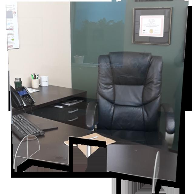 COVID Desk Shields