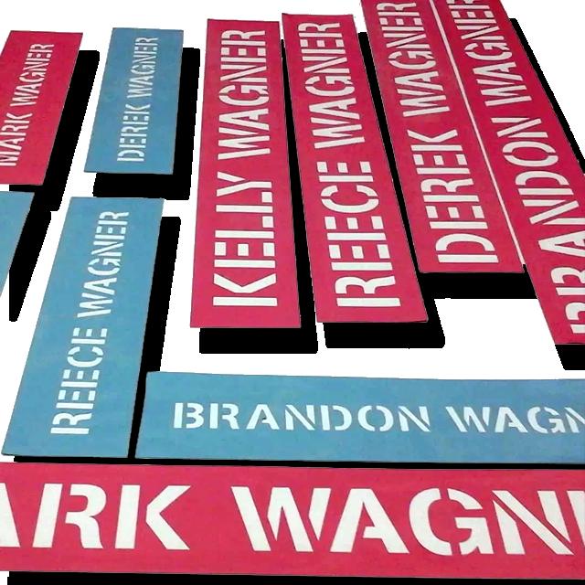 Cut Vinyl Stencils