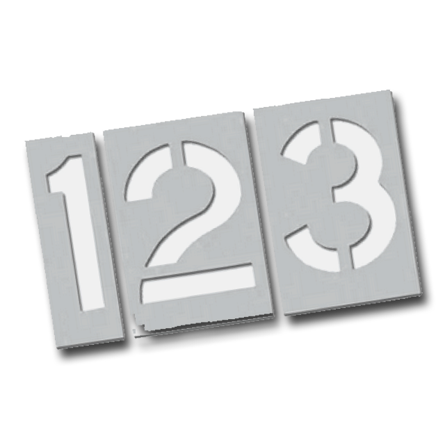 Stencil Number Kit