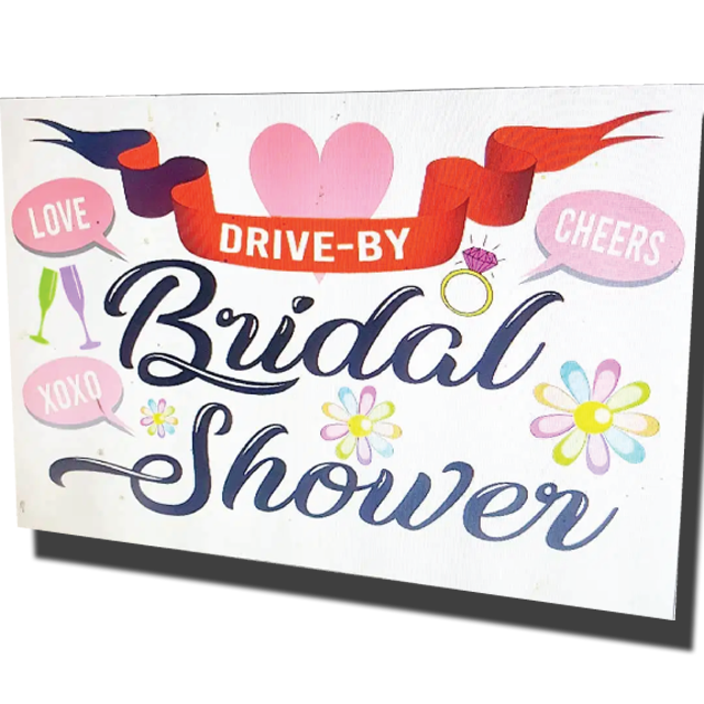 Bridal Shower Signs