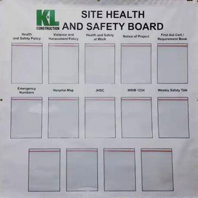 Safety Banner Signs